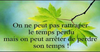 Citations sur le temps qui passe